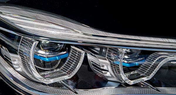 Éclairage Auto LASER Informatifs technologie constructeurs AUTOLED