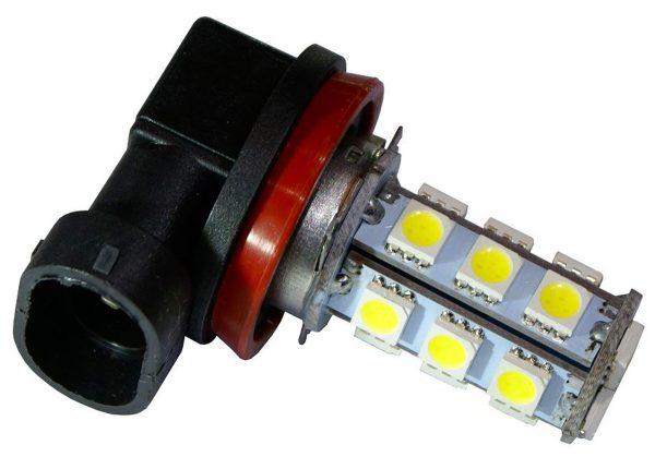 2 AMPOULE 18 LED SMD H11 ANTI BROUILLARD FEUX DE JOUR