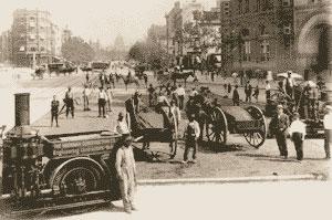 Evolution du réseau routier et de l'automobile à travers le temps AUTOLED