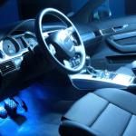 Led t10 5 leds smd bleu autoled eclairage interieur habitacle feux de position ref 0021