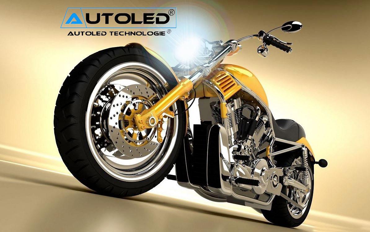 Moto deux roues AUTOLED